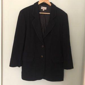 🇨🇦 vintage oversized wool/cashmere blazer